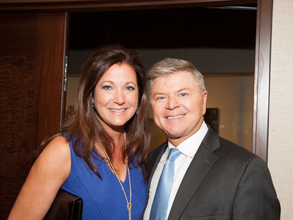 News, Shelby, Women's Fund Luncheon, Oct. 2015, Gina Curtis, Jim Pearson