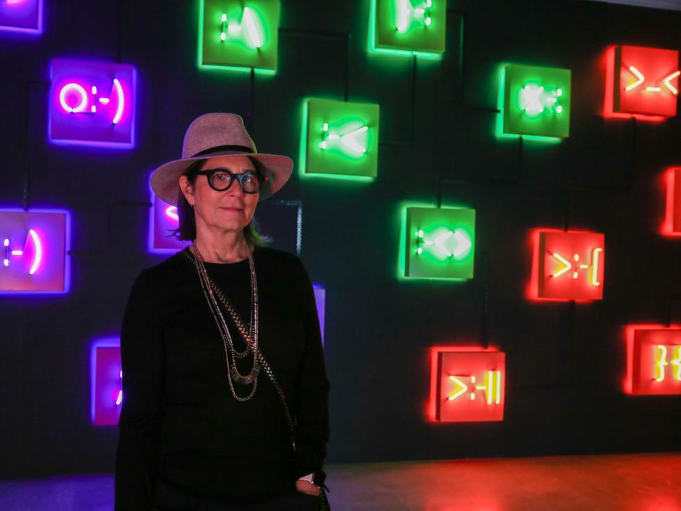 POP Austin International Art Show at Fair Market A Conversation by Lisa Schulte