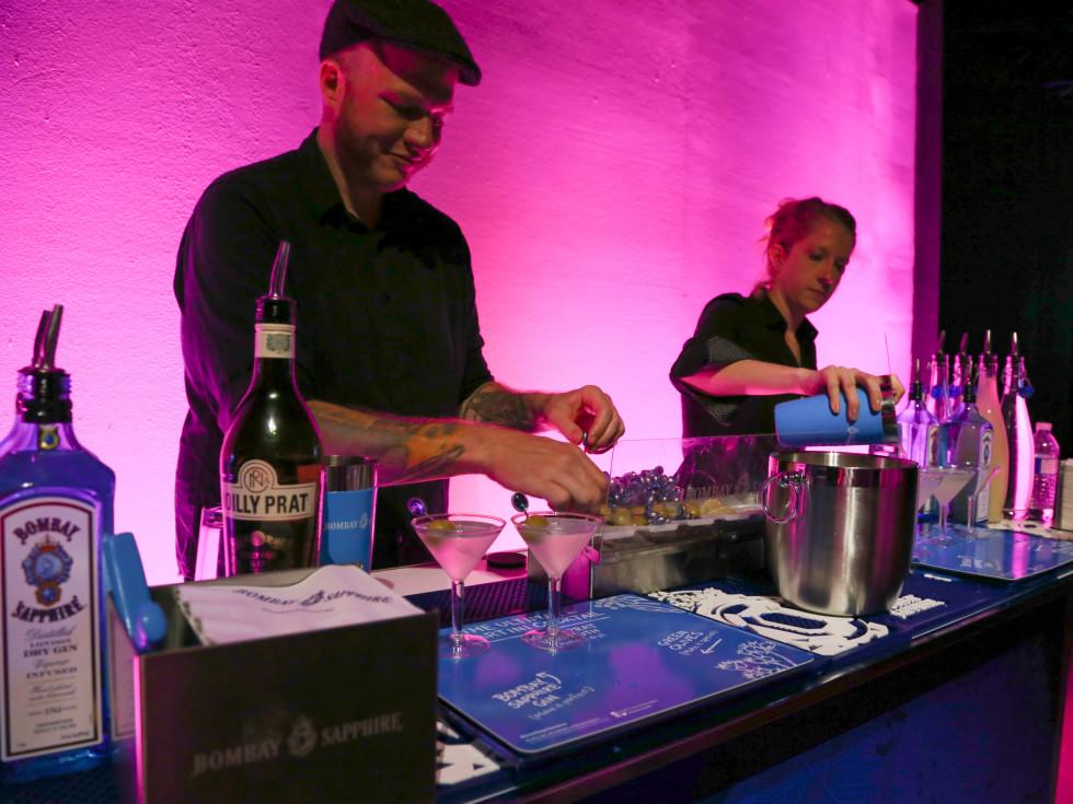 POP Austin International Art Show at Fair Market Bartenders