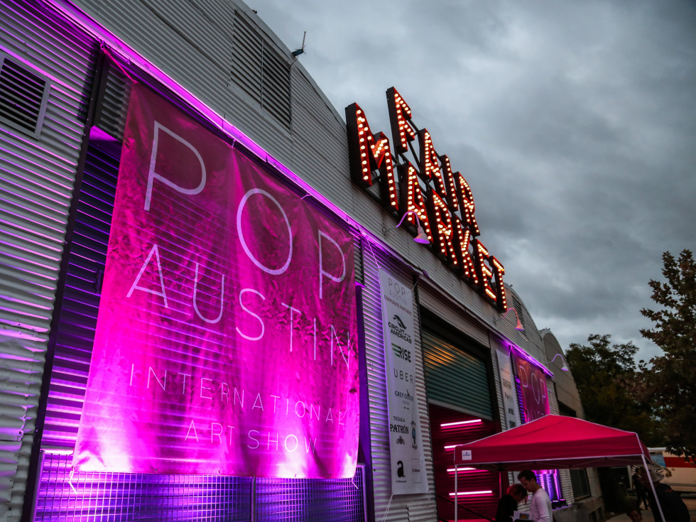 POP Austin International Art Show at Fair Market