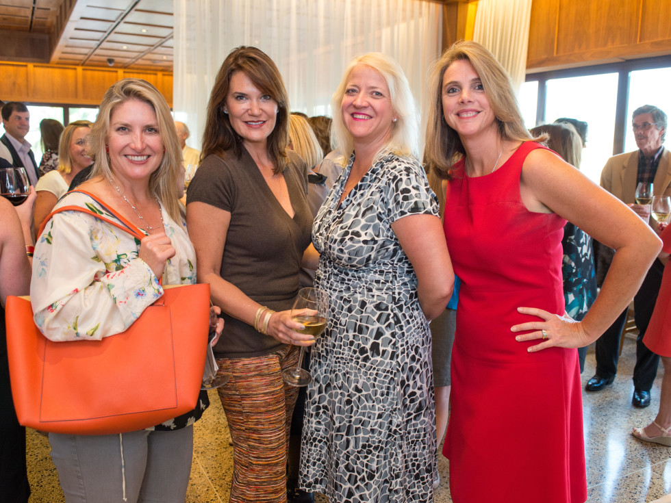 News, Shelby, Holiday Card kickoff, Oct. 2015, Melissa Hobbs, Katherine Nevins, Angela England, Danielle Comeaux