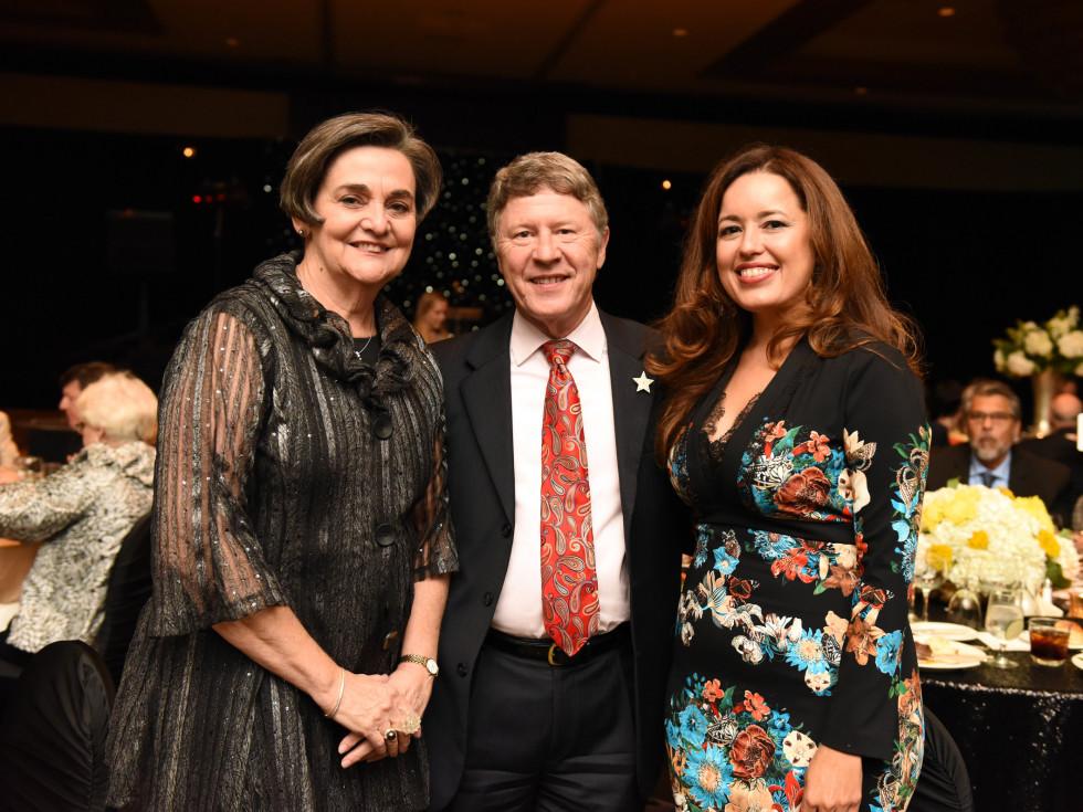 Houston, SER job for progress, October 2015, Gwen Emmett, Judge Ed Emmett and Nory Angel.