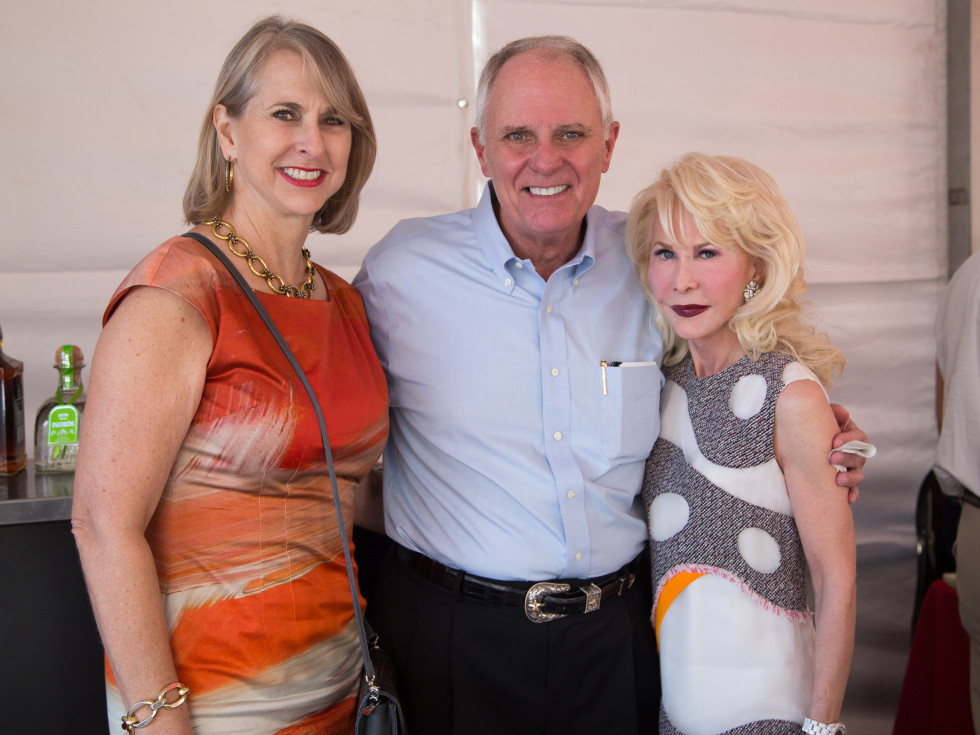 Houston, Mica Mosbacher Racing Forward event, October 2015, Susan Hansen, Dick Hansen, Diane Lokey Farb