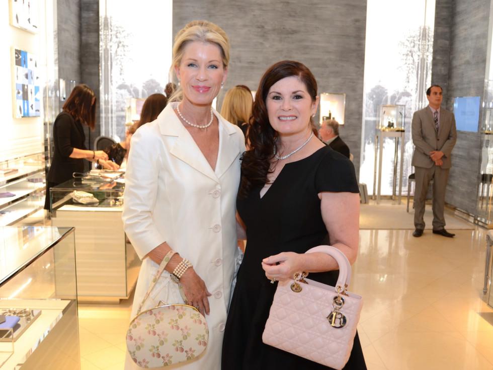 Dior grand opening Penny Wright, Christine Napier