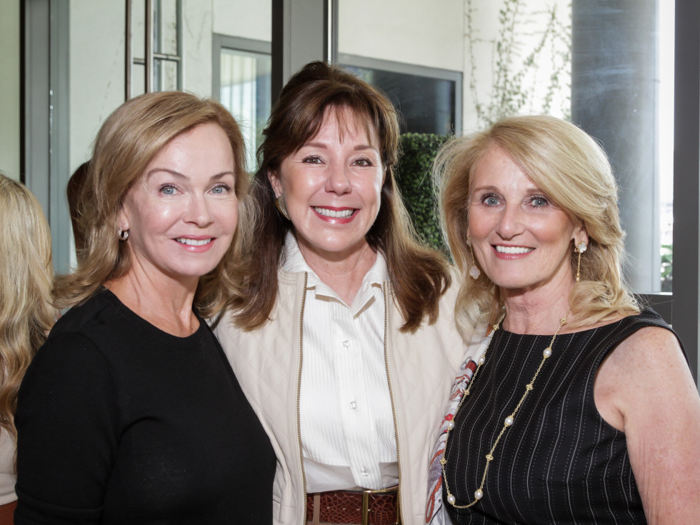 News, Shelby, Dec My Room luncheon, Oct. 2015 Alice Mosing, Elzabeth Stein and Denise Monteleone