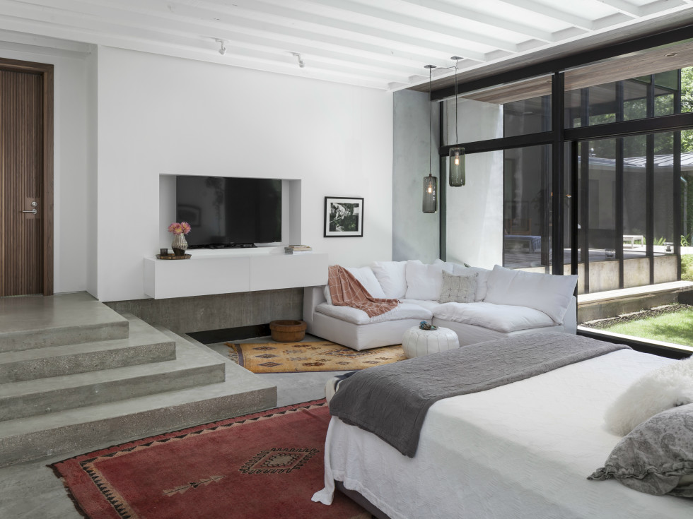 AIA Austin Homes Tour 2015 Hugh Jefferson Randolph Architects bedroom