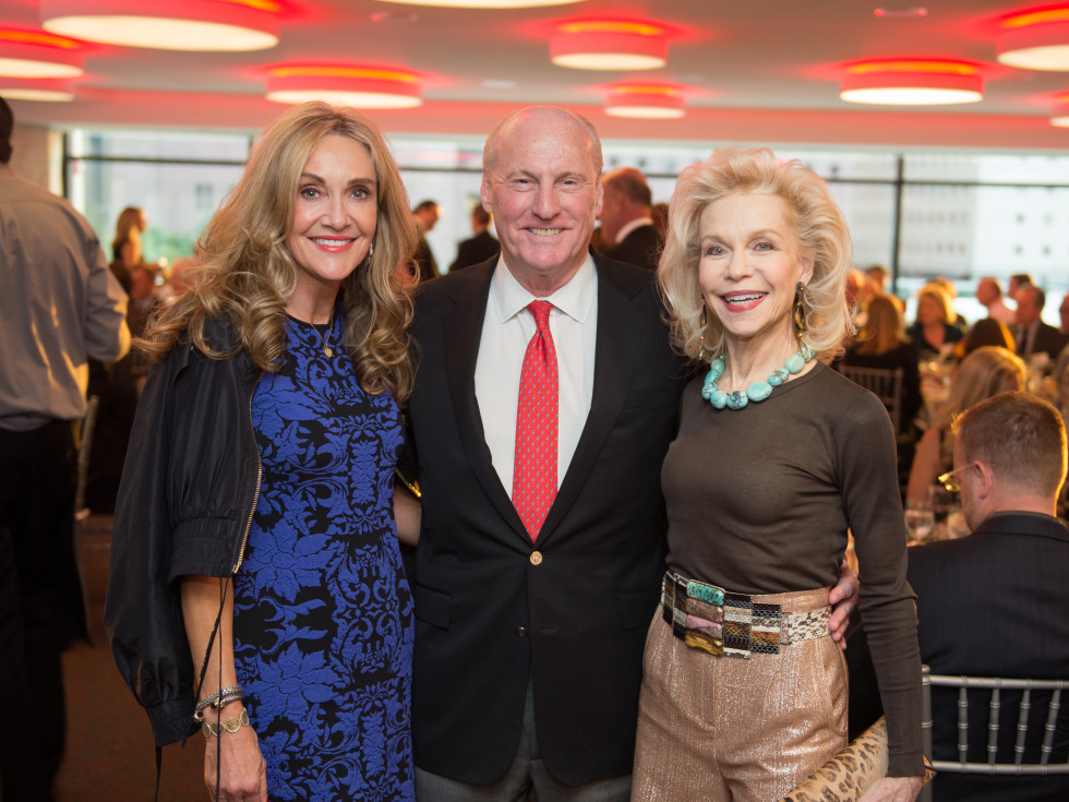 Houston, Alley Theatre opening night, October 2015, Jana Arnoldy, Scotty Arnoldy, Lynn Wyatt