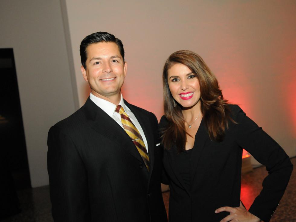 News, Shelby, Mayor's Hispanic Heritage Awards, Oct. 2015, Erik Barajas, Lizzett Lopez