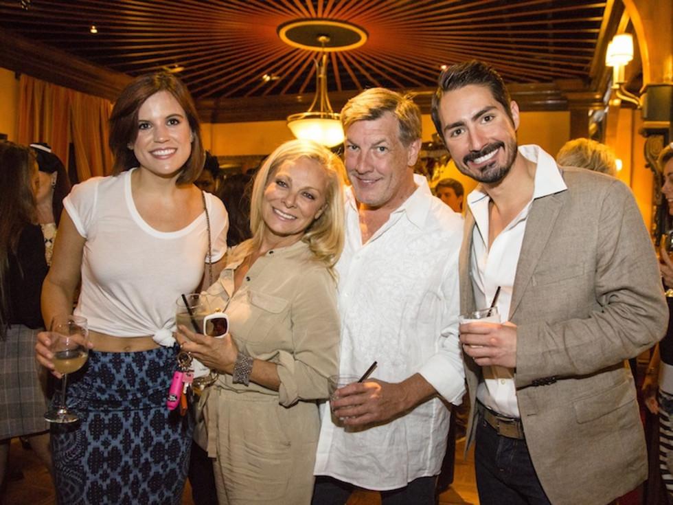 News, Shelby, Beth Muecke, Oct. 2015  LIndsay Mowad, Page Parkes, Neal Hamil, John Anger