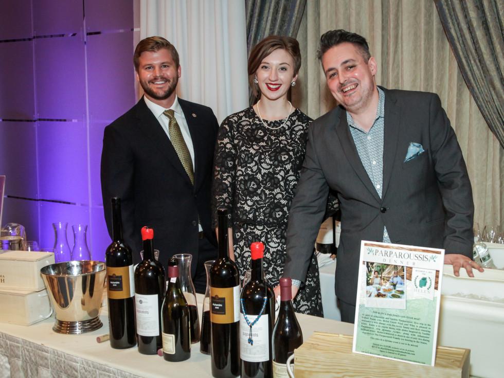 Houston, Periwinkle Foundation Sommelier Competition, September 2015, Matt Crawford; Kate Rash; Evan Turner