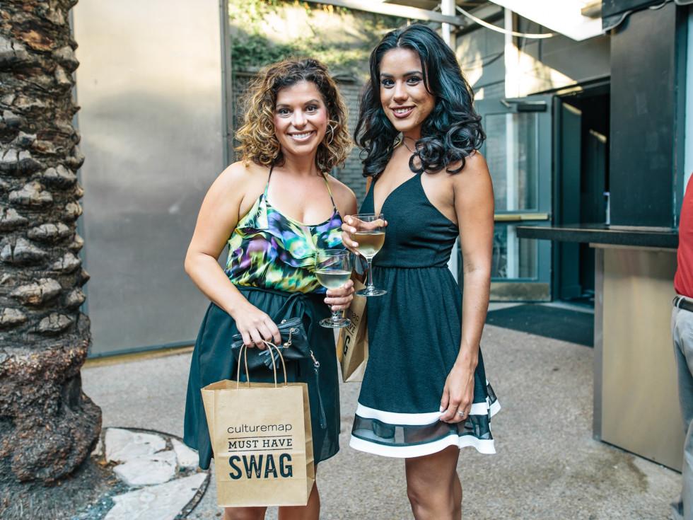 CultureMap Austin Social: Style Edition at the Belmont Amanda Dugan and Chrisdyann Uribe