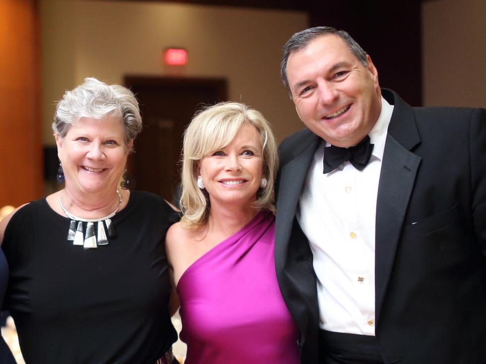 Big Brothers Big Sisters gala 2015 Leilani Essary Hurles, Sharon Bush, Tracy Dieterich