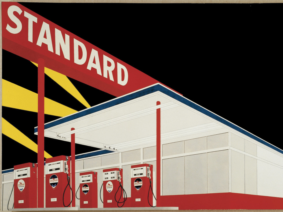 Edward Ruscha at International Pop
