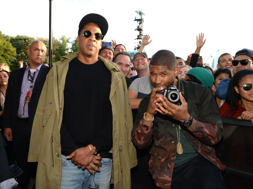 2015 Global Citizens Festival Jay Z and Usher