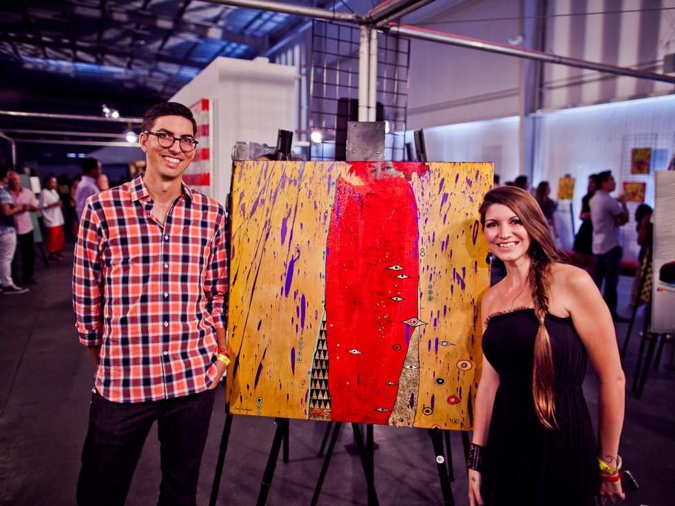 News, Joel, Mini Murals, Sept. 2015, Patty and John McCann
