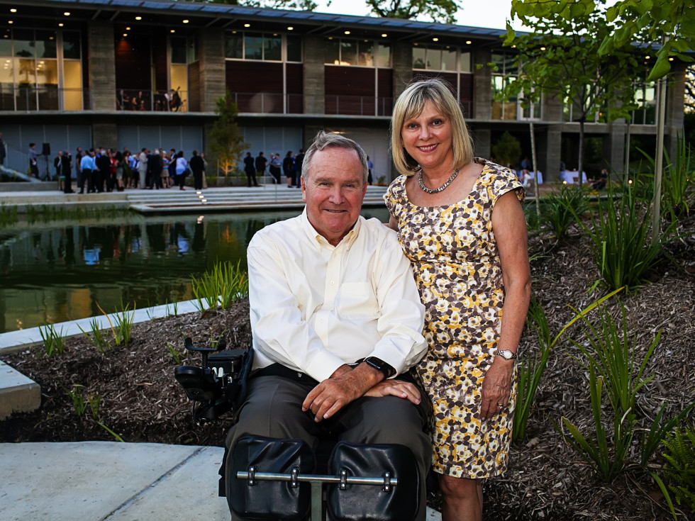 News, Shelby, Lost Lake, Dunlavy party, Sept. 2015 Staman and Beverly Ogilvie