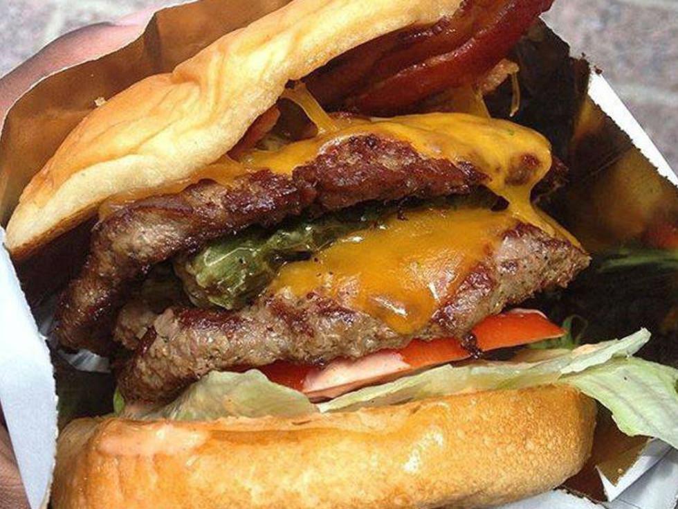 Burger Bar Big Mouth Burger