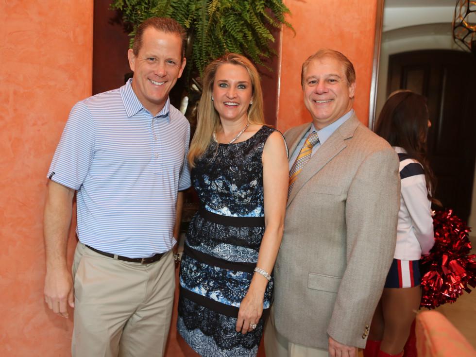 Friday Night Lights kick off Jamey Rootes, Mary and Dr Mark D'Andrea