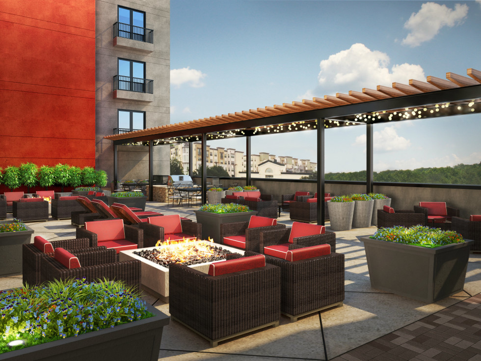 The Shelby Residences rooftop