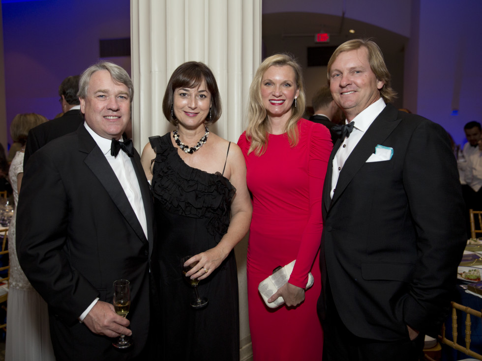 News, Shelby, Houston Symphony Opening Night, Sept. 2015, Reggie and Leigh Smith, Gretchen & Andrew McFarland