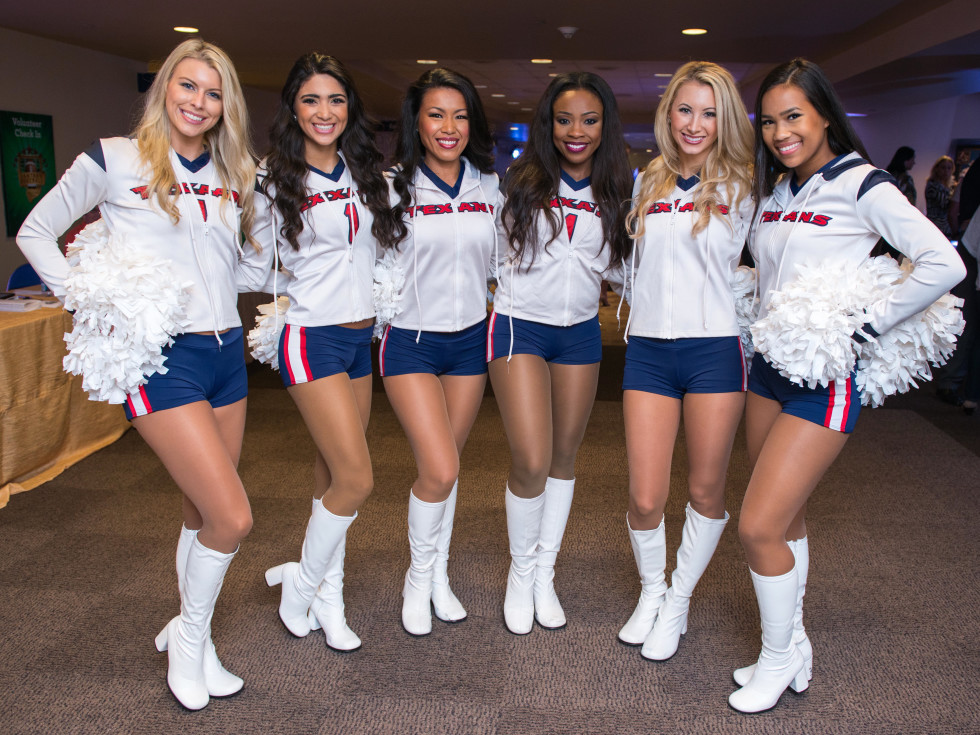Fantasy Football draft 2015 Houston Texans cheerleaders