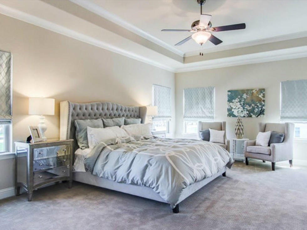 Master bedroom at 2272 Longwood Dr. in Carrollton