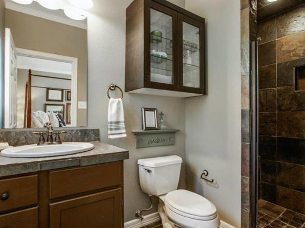 Bathroom at 6051 Penrose Ave. in Dallas