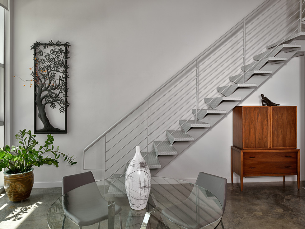 Houston, 5th Annual Houston Modern Home Tour, August 2015, 2000 Bagby, stairway