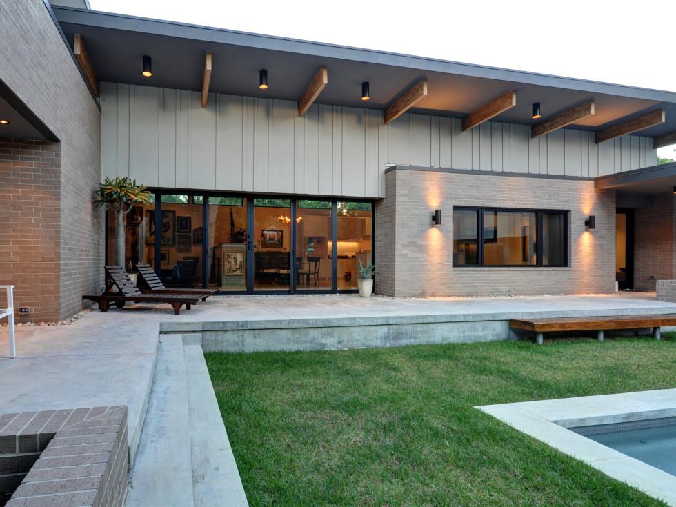 Houston, 5th Annual Houston Modern Home Tour, August 2015, 2308 North Blvd., backyard