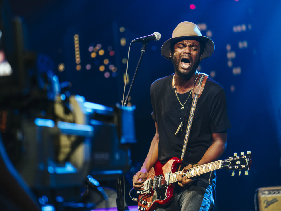 Gary Clark Jr camera Austin City Limits taping ACL TV episode 2015