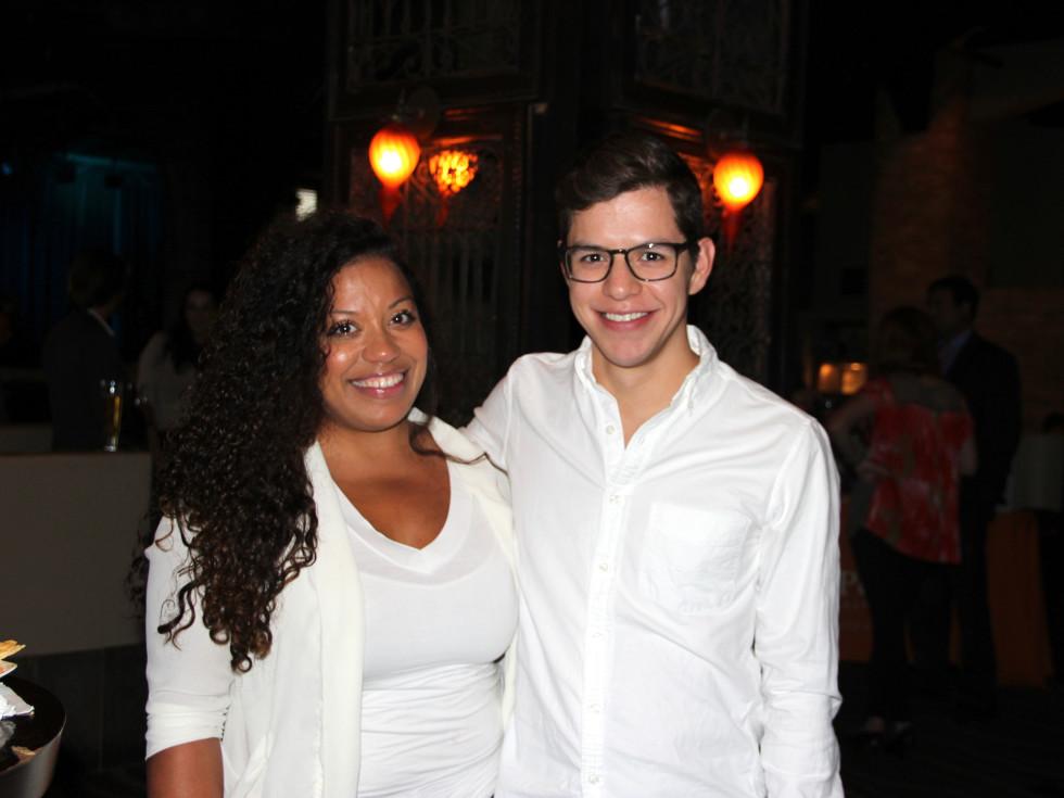 Houston, Friends of Depelchin Back to School Happy Hour, August 2015, Ivana Richardson, Michael Martinez