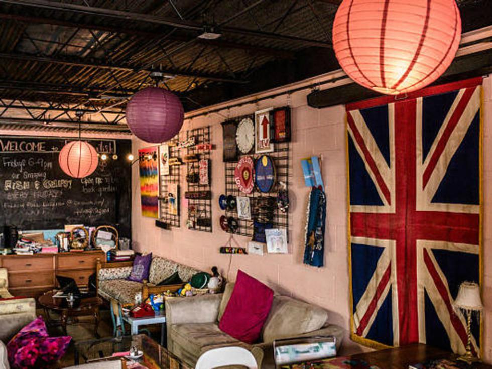 Full Enlish Austin restaurant British pub high tea interior