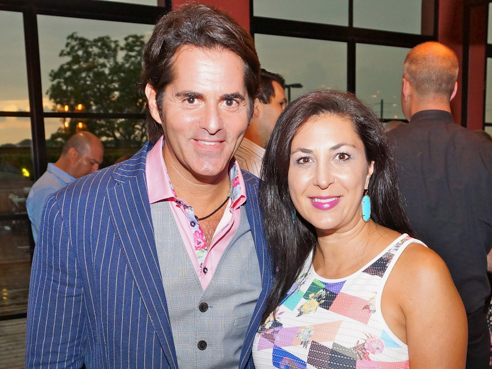 Houston, Roseann Rogers and Lara Bell birthday party, August 2015, Michael Garfield and Deborah Elias