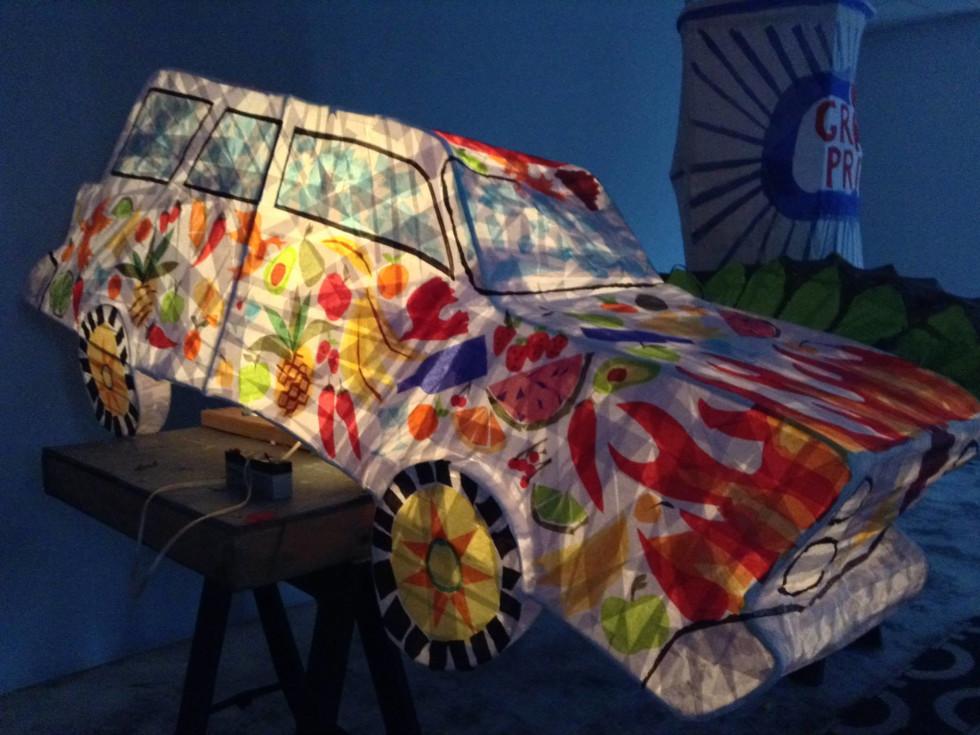 News, Shelby, Buffalo Bayou Park lanterns, August 2015