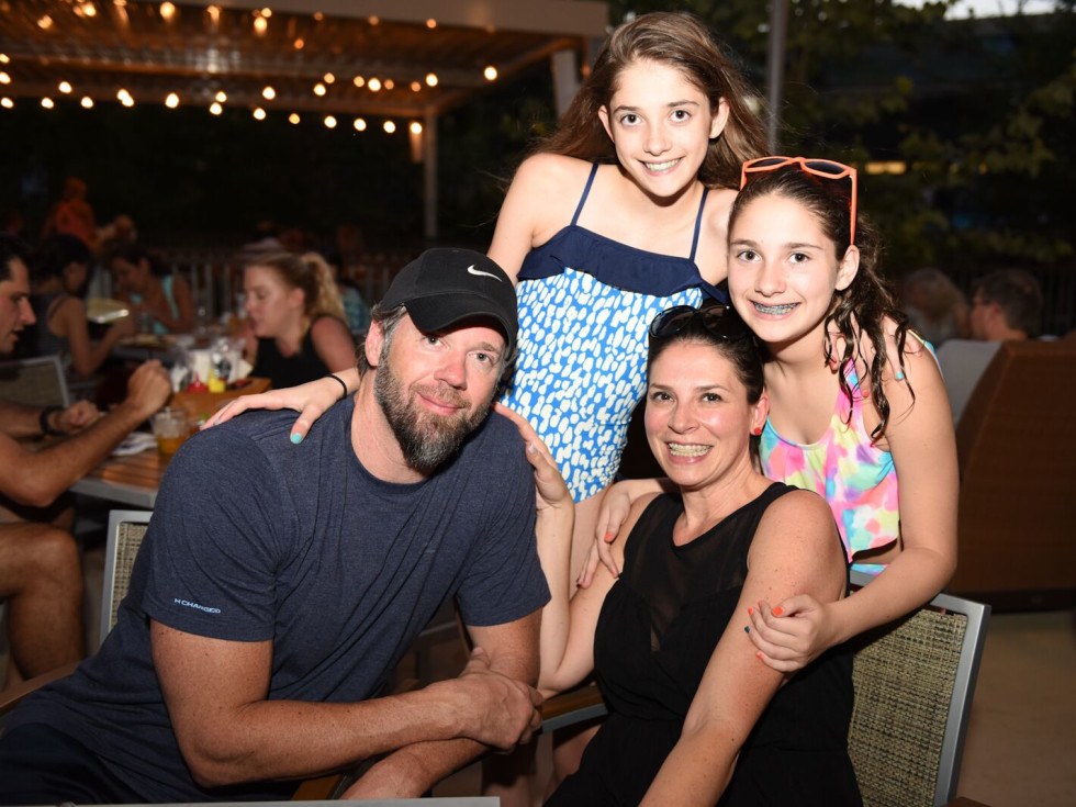 News, Shelby, Thread Alliance, Blue Moon Party, July 2015, Kevan, Kennedy and Kourtney Tabitha Casey.