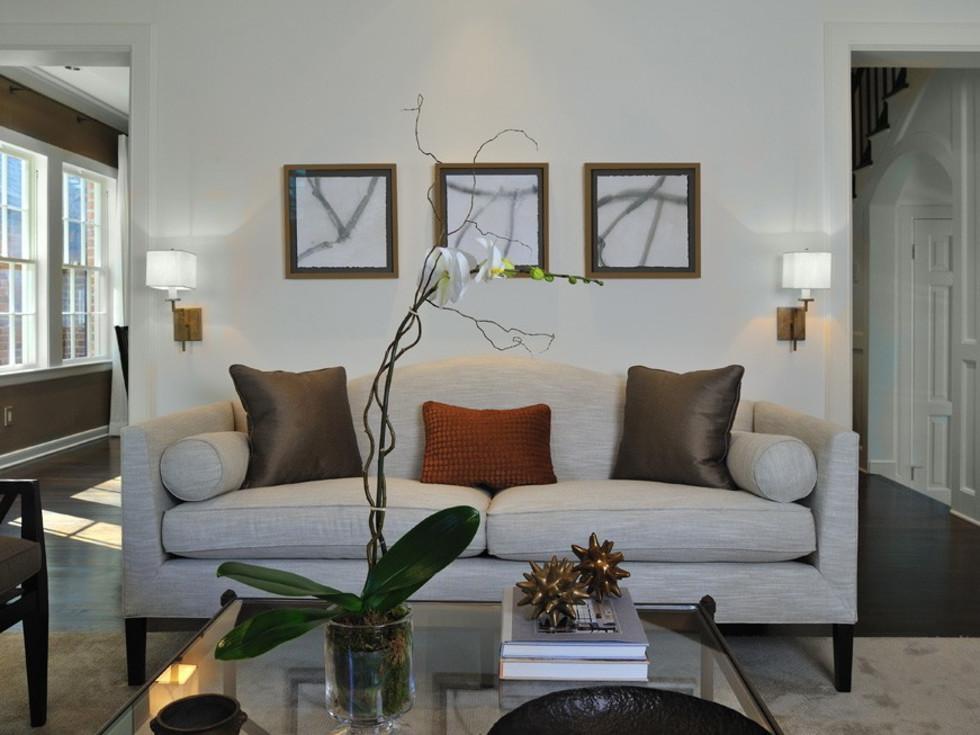 Porch.com Four Square Design Studio living room