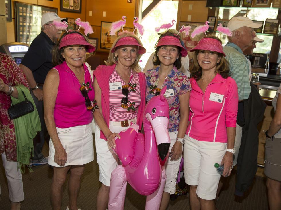 Houston Methodist in Aspen, July 2015, Paula Loud, Denise Monteleone, Marie ONeil and Dathel Coleman