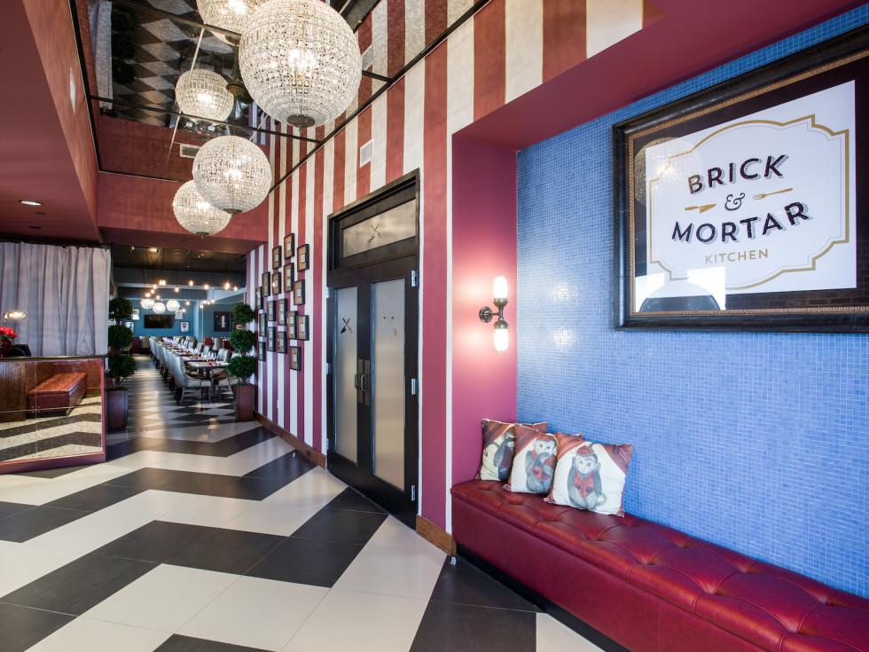 Brick and Mortar Kitchen