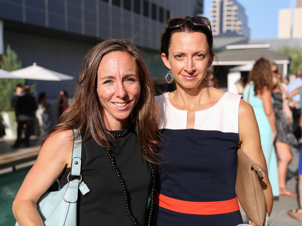 CultureMap Social The W Hotel Wet Deck Suzanne McGinnis Carmen Sutherland Fine and Folded Founders