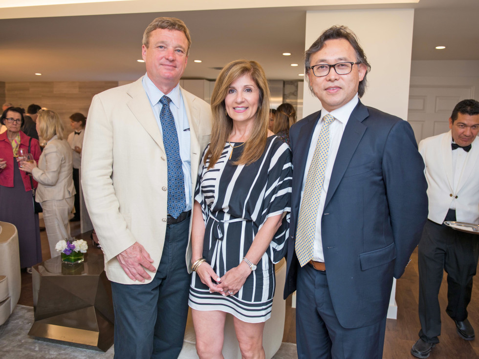 Houston, The River Oaks High Rise Preview Party, June 2015, Richard and Carmela Lummis; Eric Lagdameo