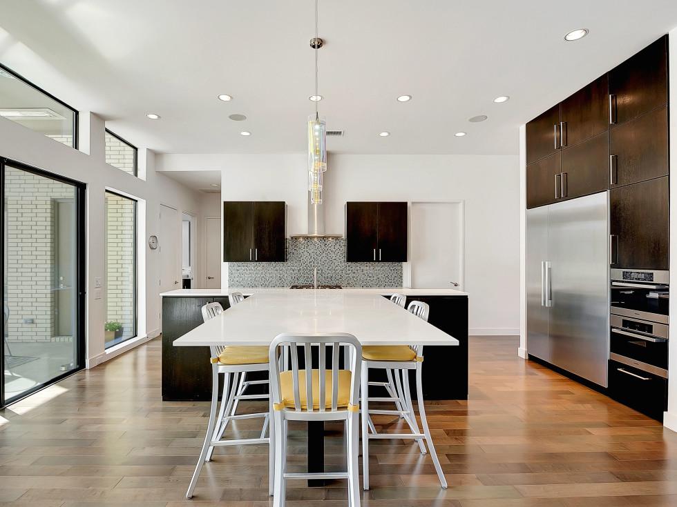 Kitchen designed by Ware Architecture Studio