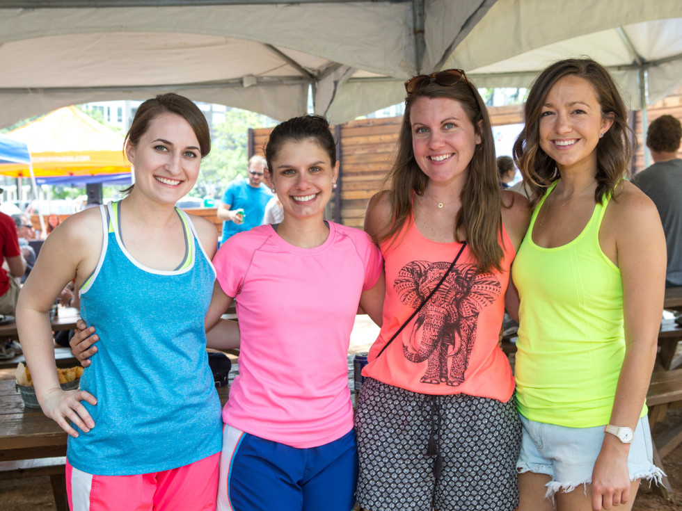 Hannah Moredock, Mary Ruiz, Sarah Rall, Tristyn Taylor,