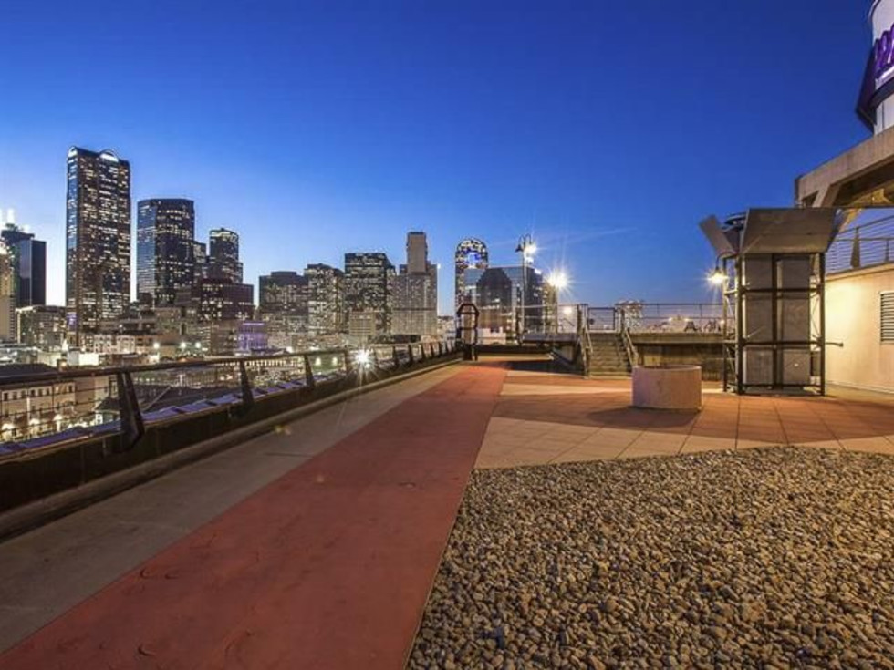Rooftop at 2220 Canton St. in Dallas