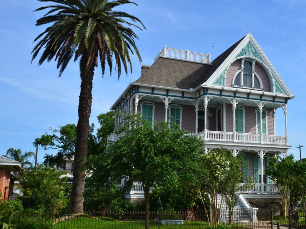 Galveston historic home