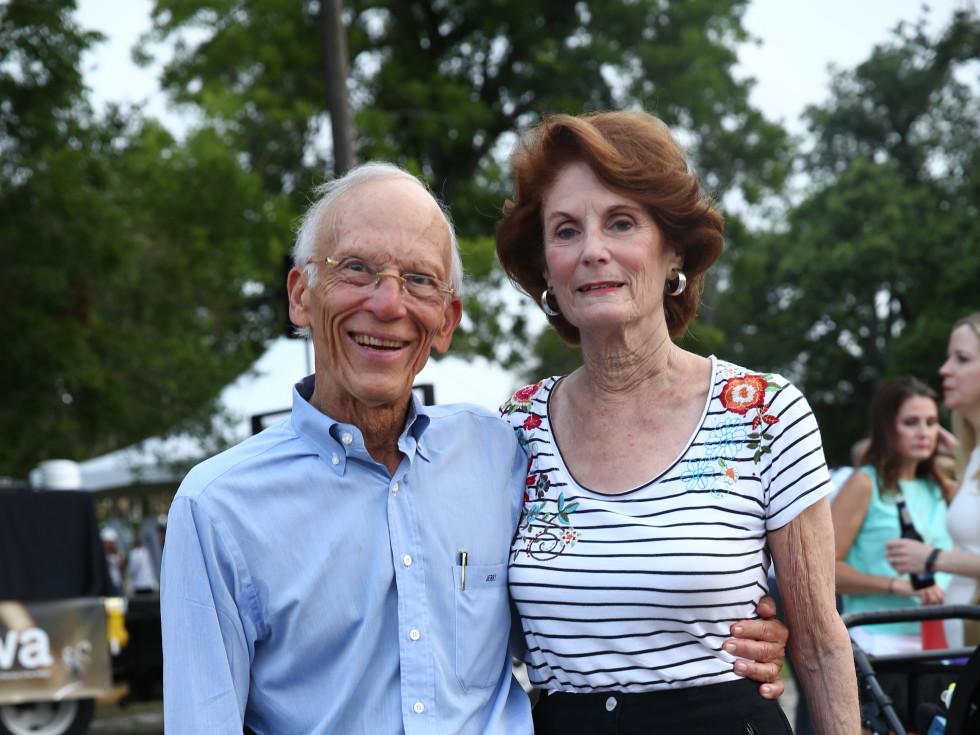 News, Shelby, Evelyn's Park Groundbreaking, june 2015, Jerry Rubenstein-Linda Rubenstein