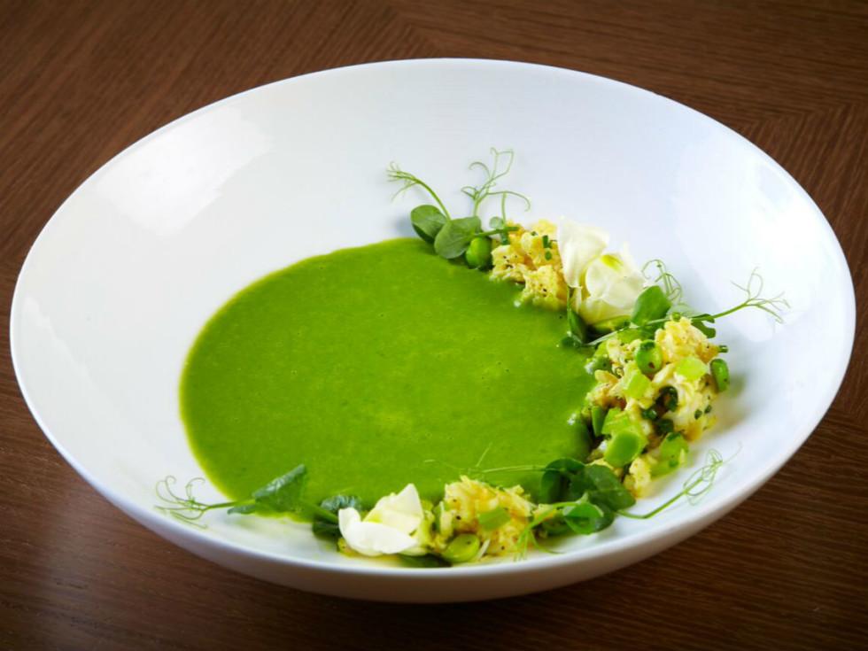 English pea soup