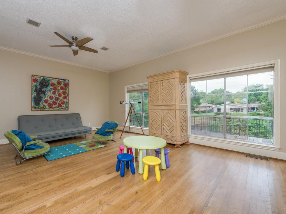 Playroom at 4224 Briar Creek in Dallas