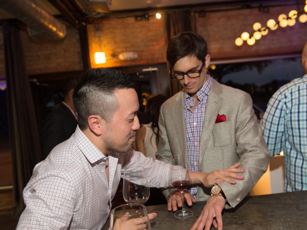 Camerata and Tiffany Watch Launch Paul Kwak and Paul Petronella