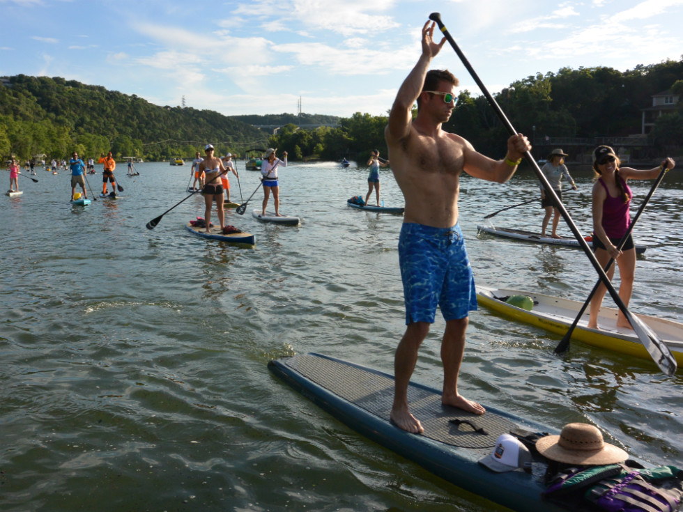 Tyler's Dam That Cancer_Flatwater Foundation_stand up paddle boarding_Lake Austin_Jess Martin_2015