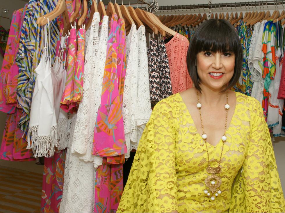 Fashion designer Trina Turk